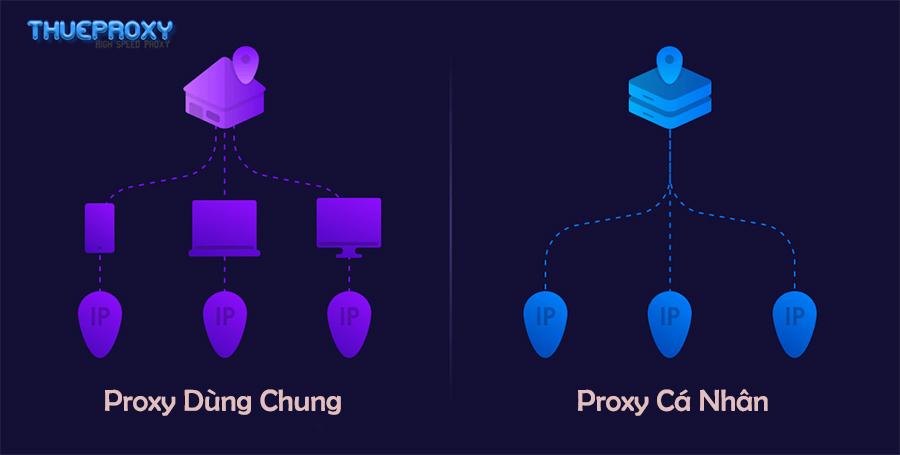 Proxy Dùng Chung Là Gì? Có Nên Sử Dụng Proxy Dùng Chung?