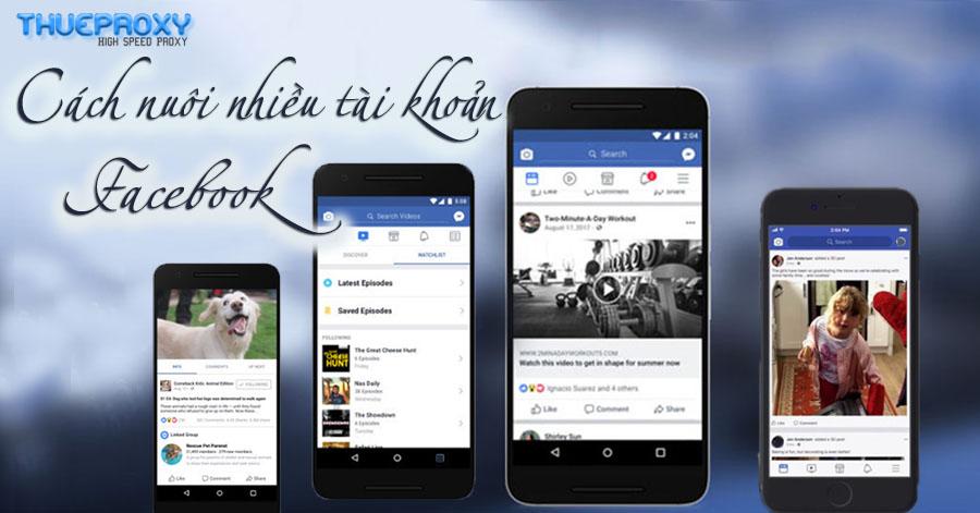 Proxy nuôi tài khoản Facebook – Kinh nghiệm Fake IP – Thuê Proxy giá rẻ